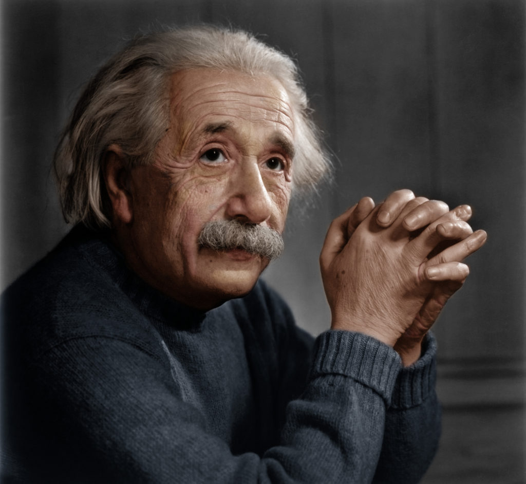 Albert Einstein famous people of all time