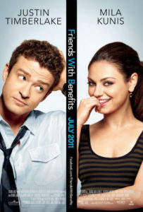 Friends with Benefits sex comedy movies