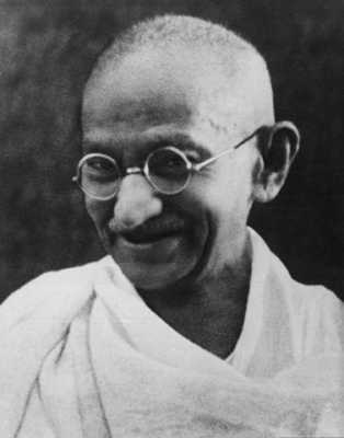 Mahatma Gandhi famous people of all time