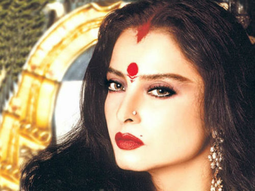 Rekha Beautiful Actresses in Bollywood of all Time