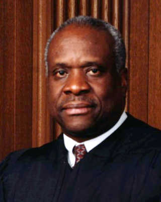 Clarence Thomas African-Americans who changed the world