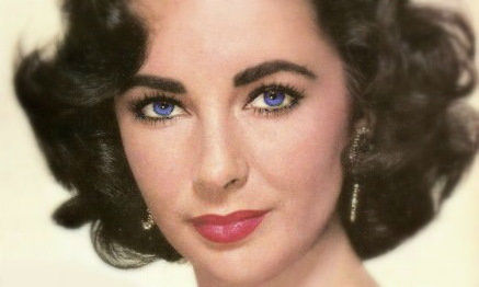 Elizabeth Taylor Celebrities with most beautiful eyes
