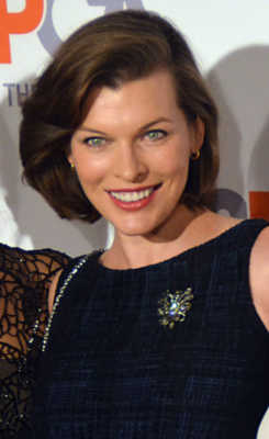 Milla Jovovich Celebrities with most beautiful eyes