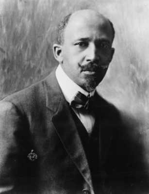 WEB DuBois African-Americans who changed the world
