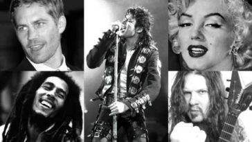 Famous Artists Gone Too Soon