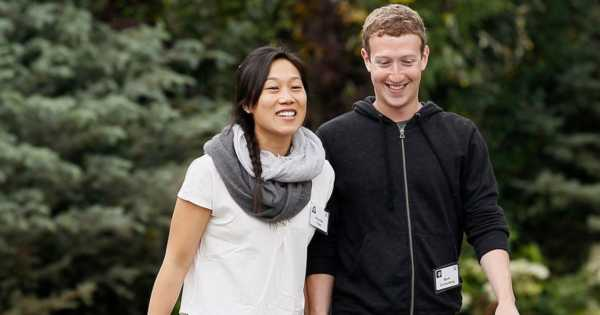 Mark Zuckerberg and Priscilla Chan Most Influential People Of 2016
