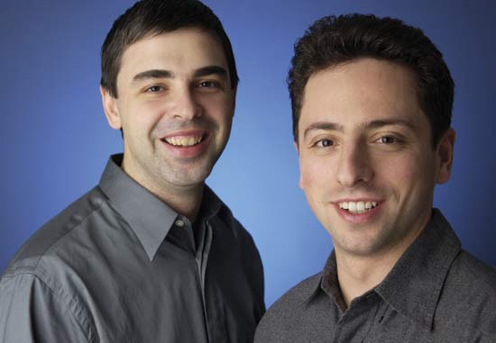 Larry Page and Sergey Brin Most famous people in 2016