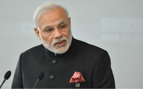 Narendra Modi most famous person 2017
