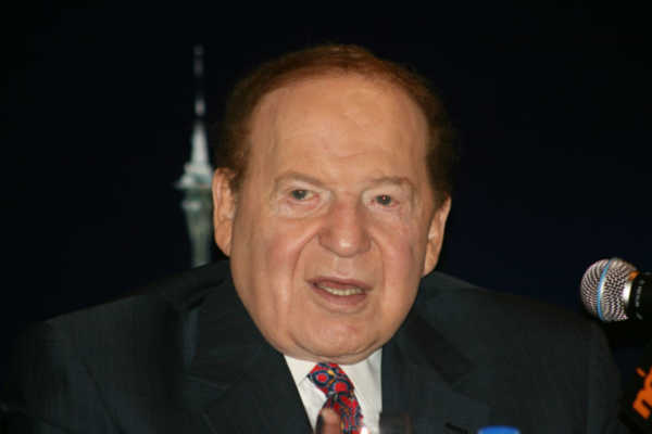 Sheldon_Adelson Business Tycoons Who Are College Dropouts