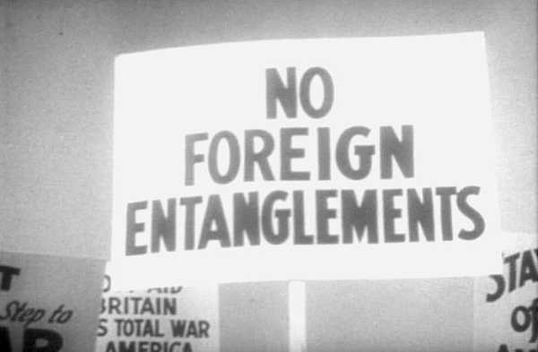 US isolationism 10 Reasons for world war 2