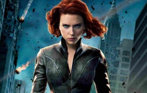 Black Widow Sexiest Female Super Heroes