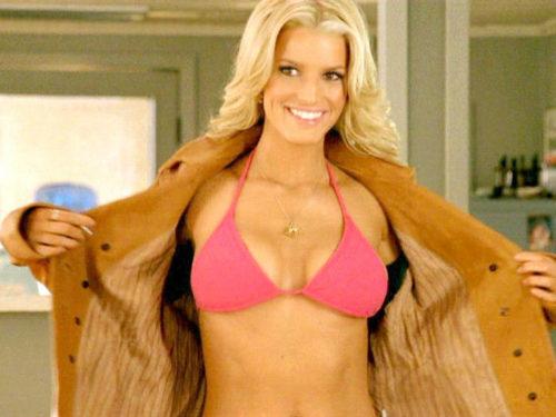 "Jessica Simpson ""The Dukes of Hazard"" (2005) bikini moments"