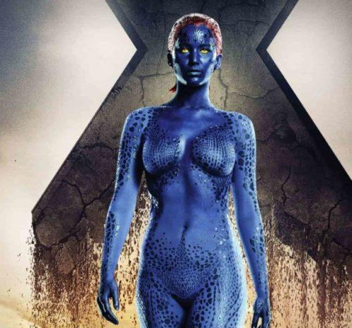 Mystique Sexiest Female Super Heroes