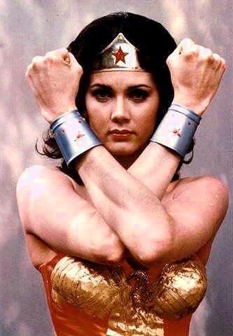 Wonder Woman in the T.V. Series Sexiest Female Super Heroes