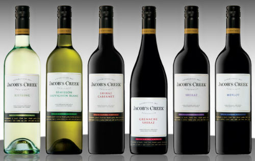Jacob's Creek best selling brands in the world