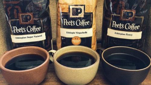 Peet's Coffee & Tea best selling coffee brands