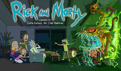 Rick and Morty Best Cartoons shows in 2017