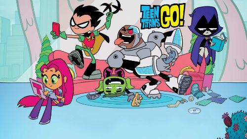 Teen Titans Go! Best Cartoons shows in 2017