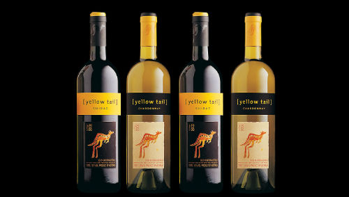 Yellow Tail best selling brands in the world