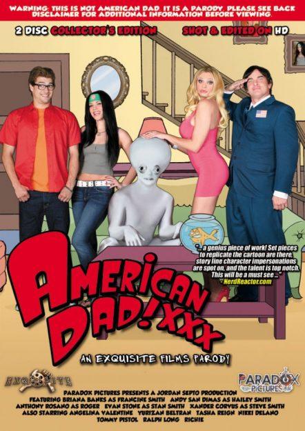 American Dad XXX comedy porn movies
