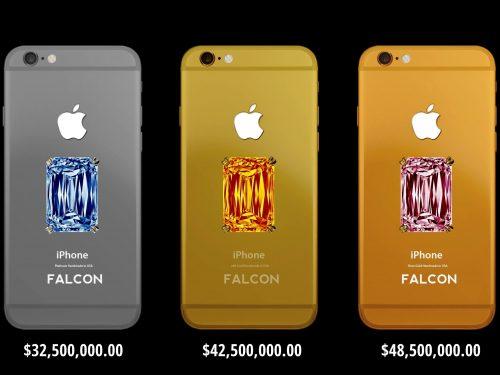 Falcon supernova iPhone 6 ($48.5 million) Expensive Phones