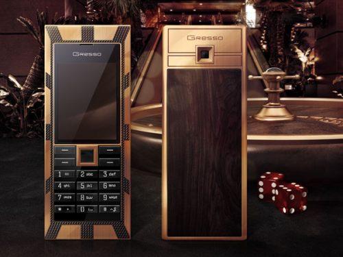 Gresso Luxor Las Vegas Jackpot ($1 Million) Expensive Phones