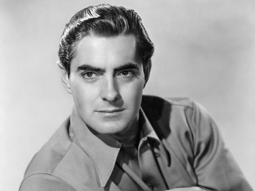 Tyrone Power most beautiful guys of all time