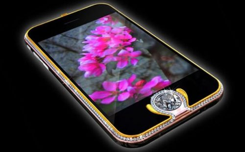 iPhone 3G King's Button ($2.5million) Expensive Phones 2017