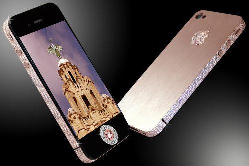 iPhone 4 Diamond Rose ($8 million) Expensive Phones