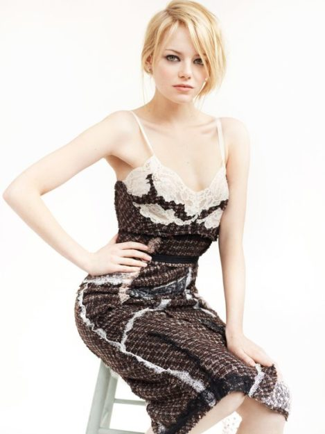 Emma Stone seductive photos (2)
