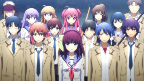 Angel Beats! Top 10 Most Popular Amine That Created Ever