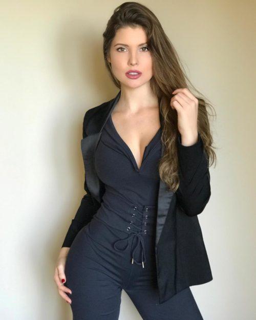 Amanda Cerny sexy half-nude pics - 17