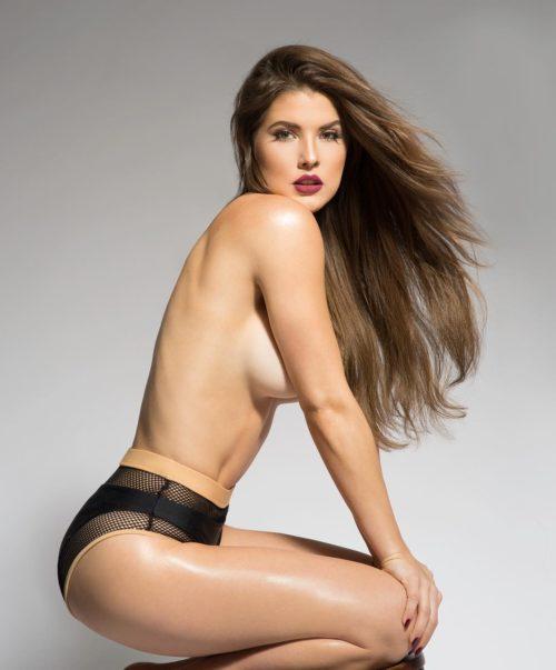 Amanda Cerny sexy half-nude pics - 9
