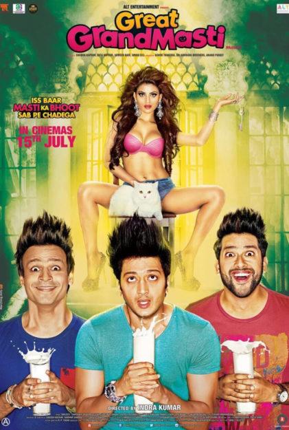 Grand Masti & Great Grand Masti sex comedies in bollywood