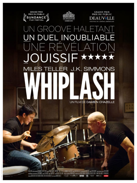 Whiplash - finest movies to watch this weekend