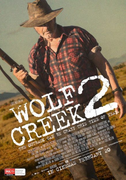 Wolf Creek - 2 - finest movies to watch this weekend