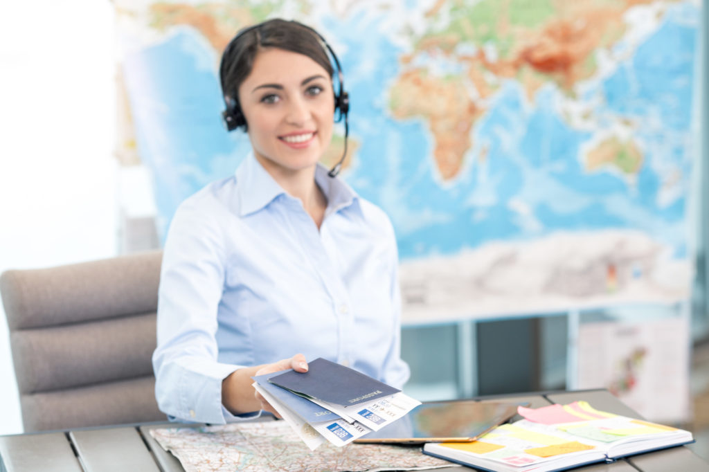 booking your vacation through a travel agent