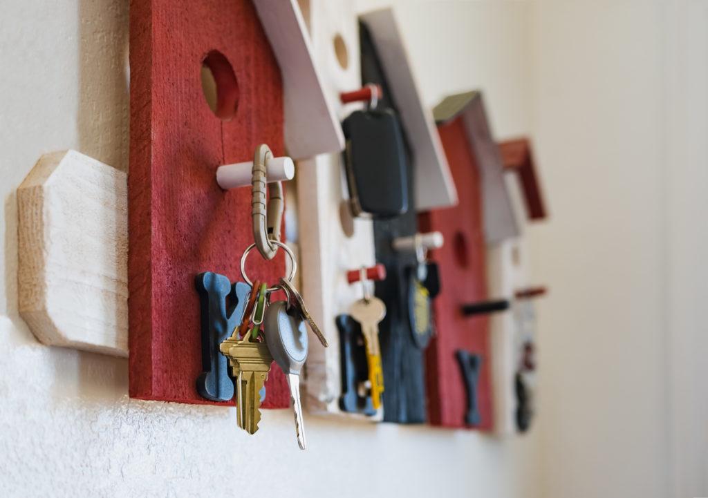 organize keys