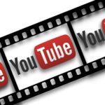 youtube logo on film