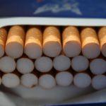 cigarettes in box