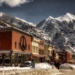 colorado town in mountains