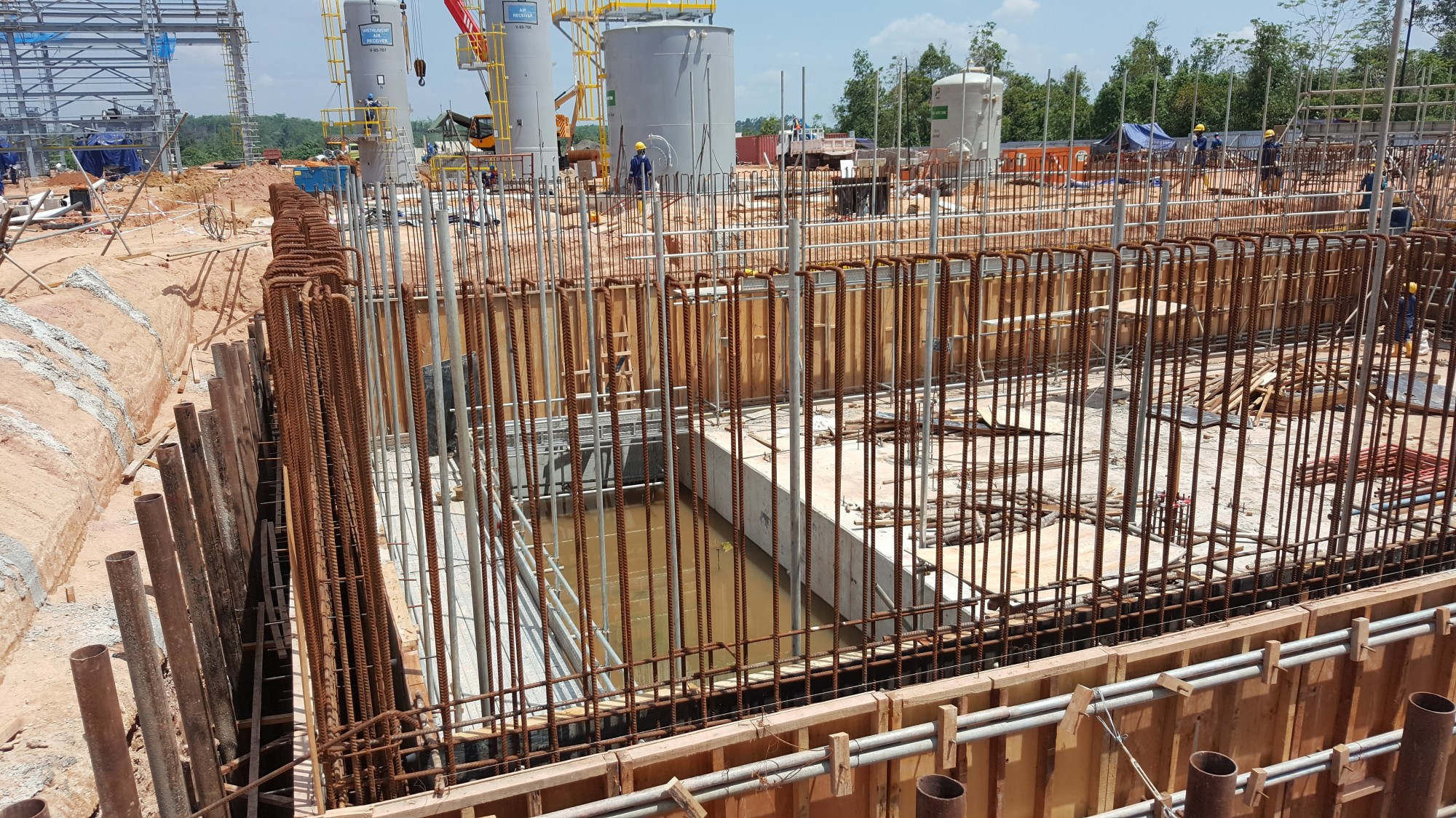 Constructing a Building Foundation