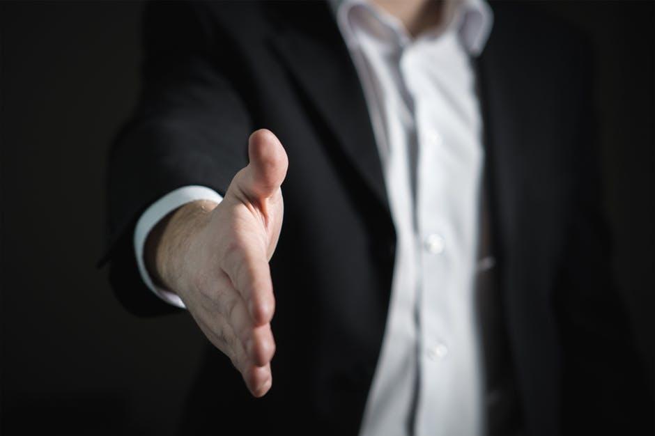 Handshake After a Sales Deal